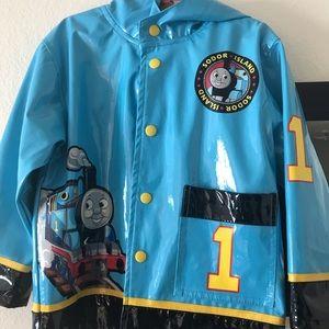 Thomas the train raincoat 4-5